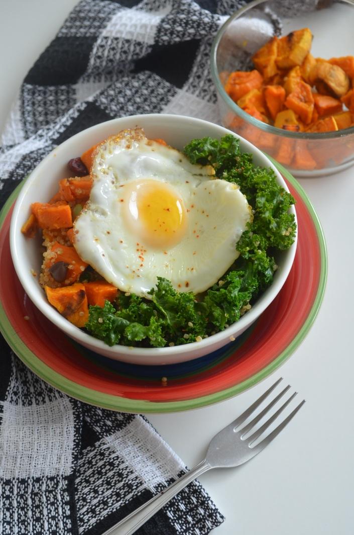 Sweet Potato, Kale & Quinoa Bowl (Small Batch)