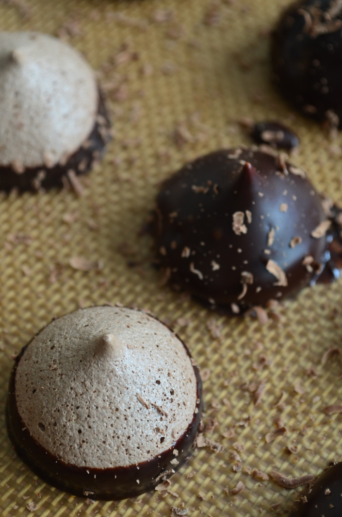 Meringue Kisses Chocolate Recipes (Small Batch)