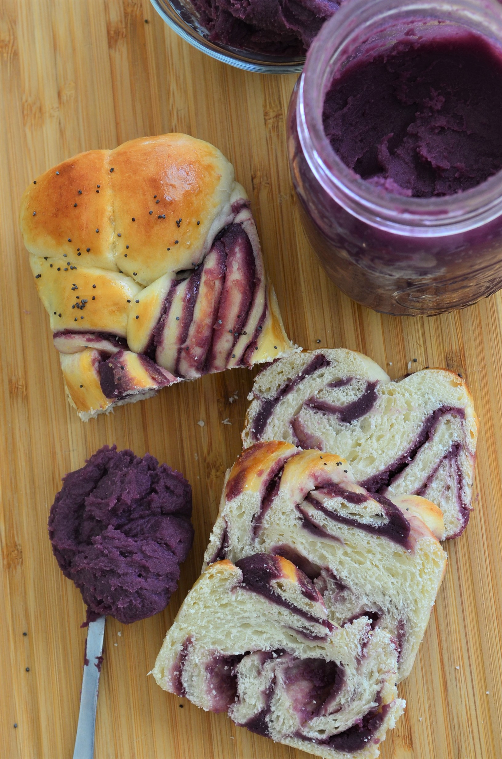 Ube Twist Bread