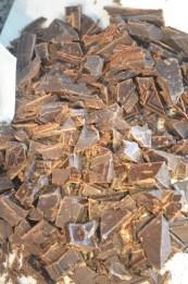 Chop chocolates