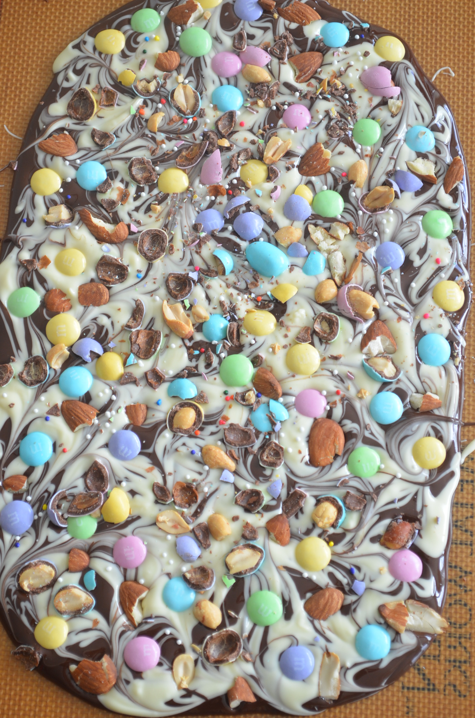Easter Bark Chocolates