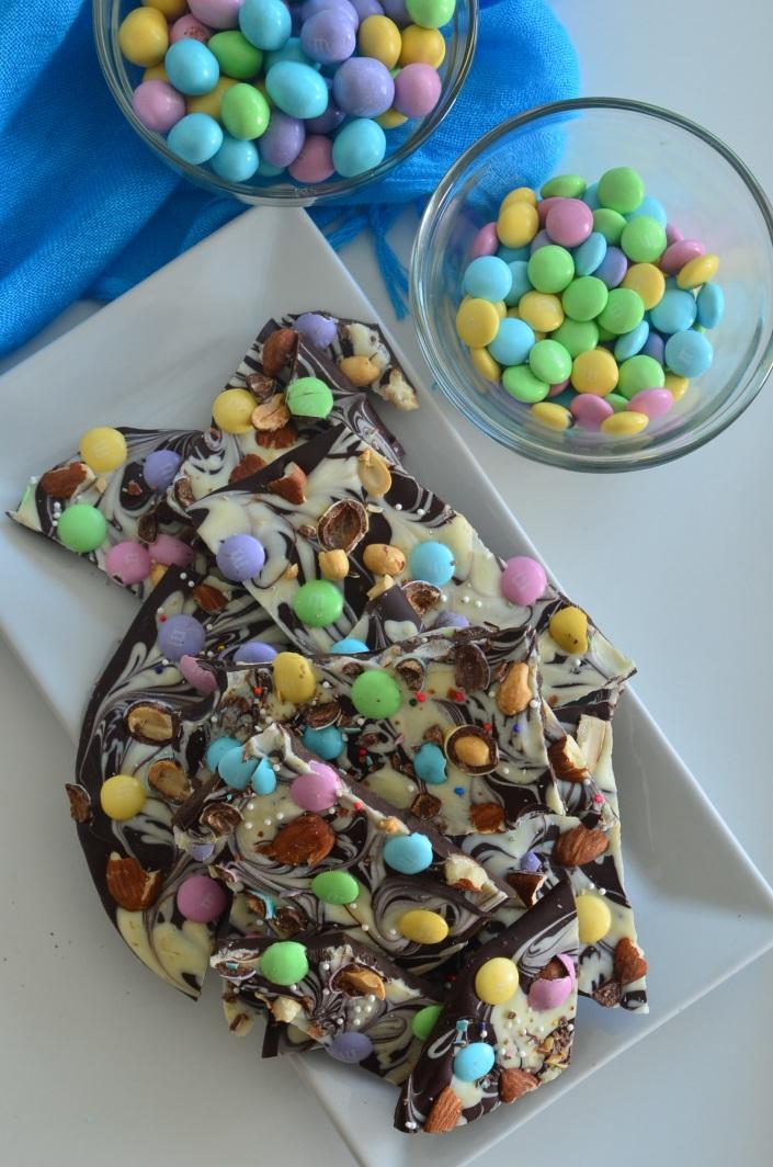 Easter Bark Chocolates