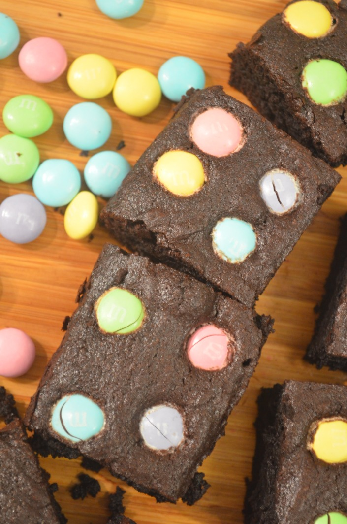 Easter Brownie Bites (Small Batch)