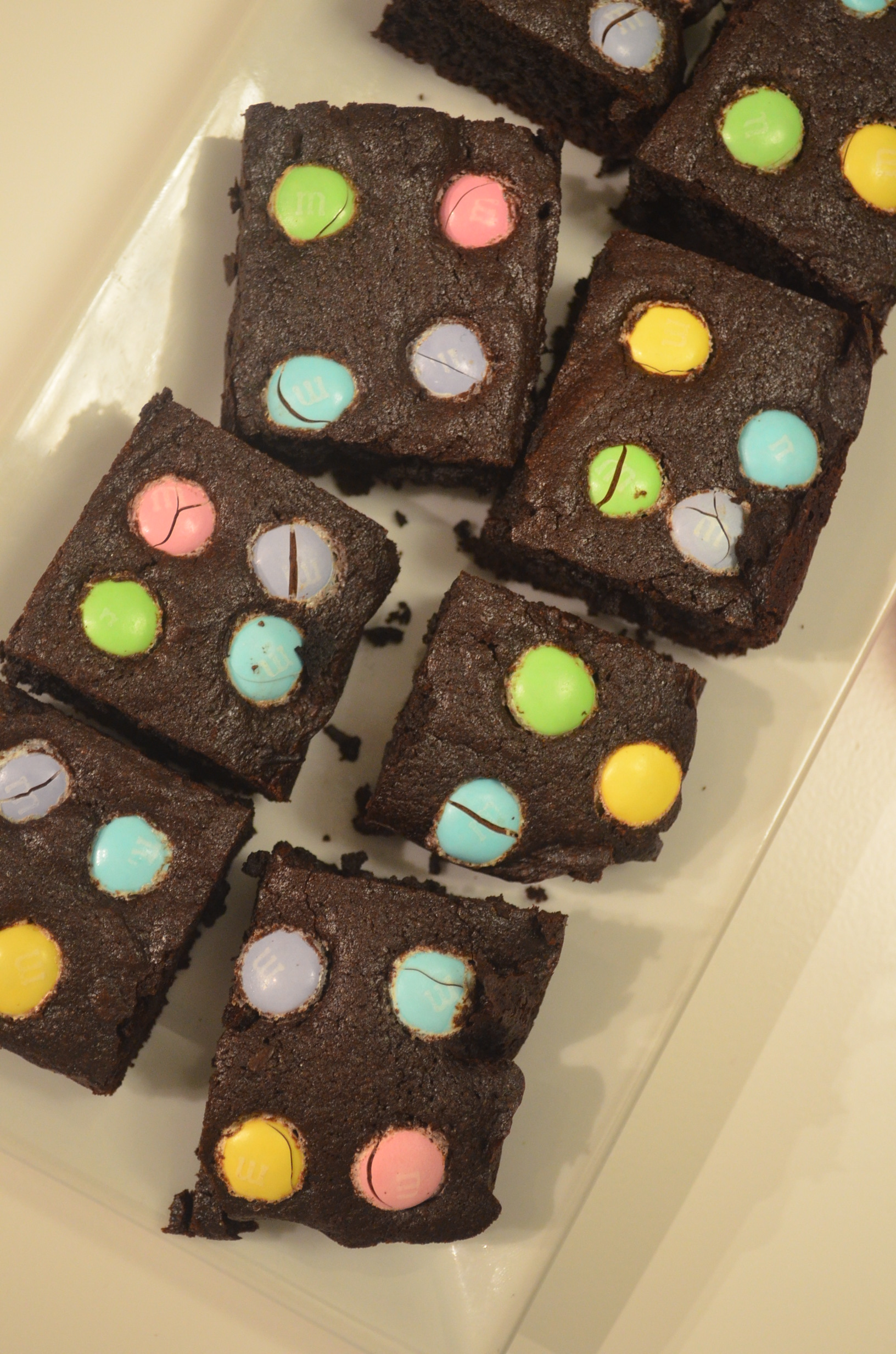 Easter Fudge Brownie Bites (Small Batch)