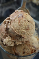 Homemade Coffee Fudge Ice Cream Recipe