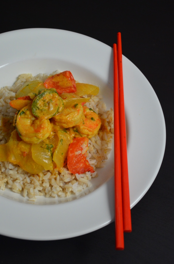 Spicy Shrimp Curry