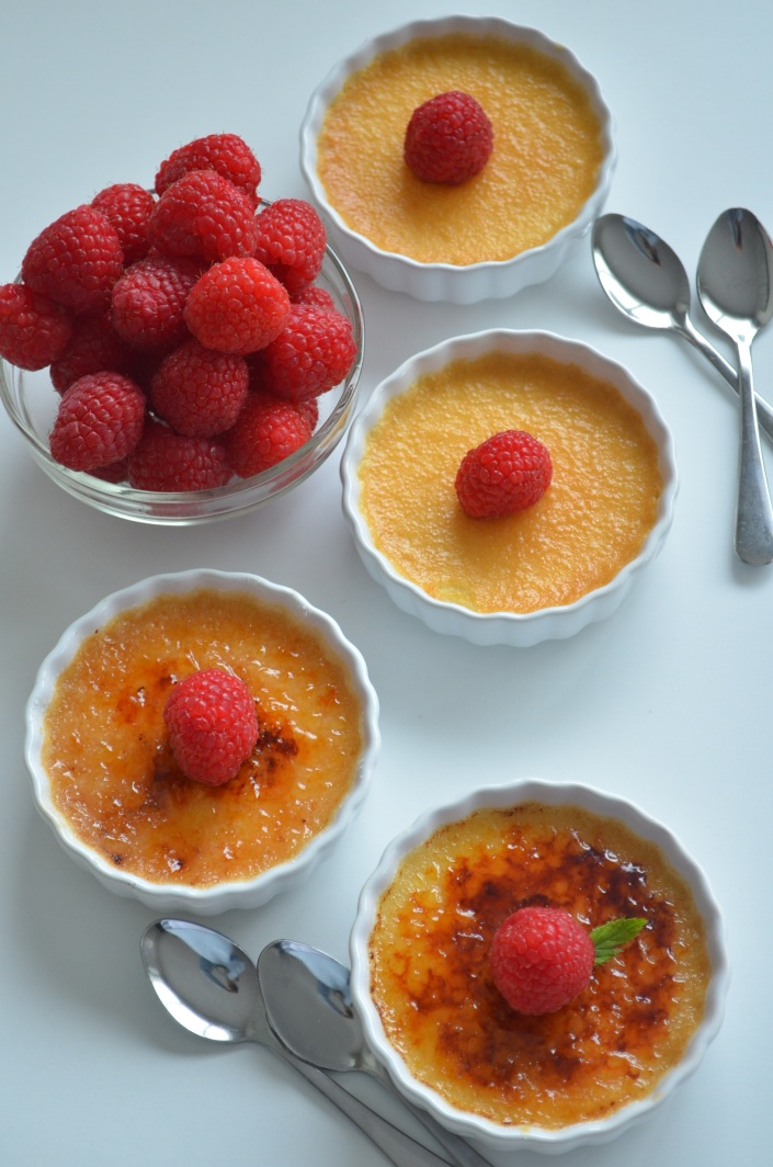 Vanilla Creme Brulee (Small Batch) Recipe By SweetNSpicyLiving.com