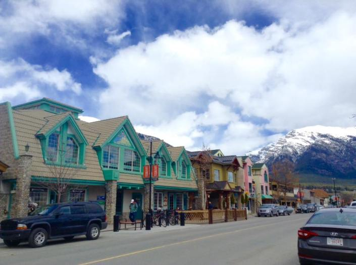 Canmore Downtown, Alberta