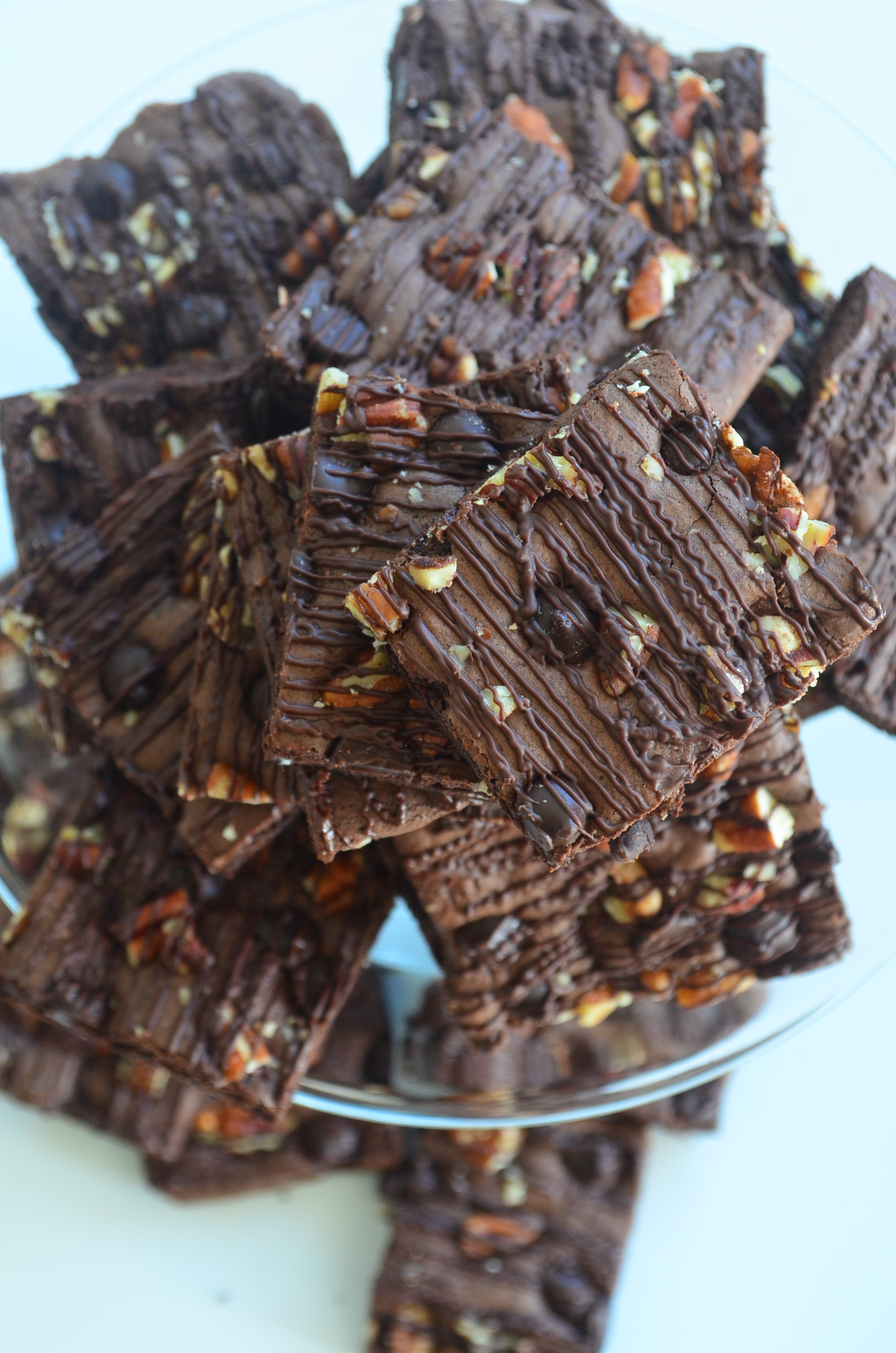 Thin and Chewy Brownie Recipe