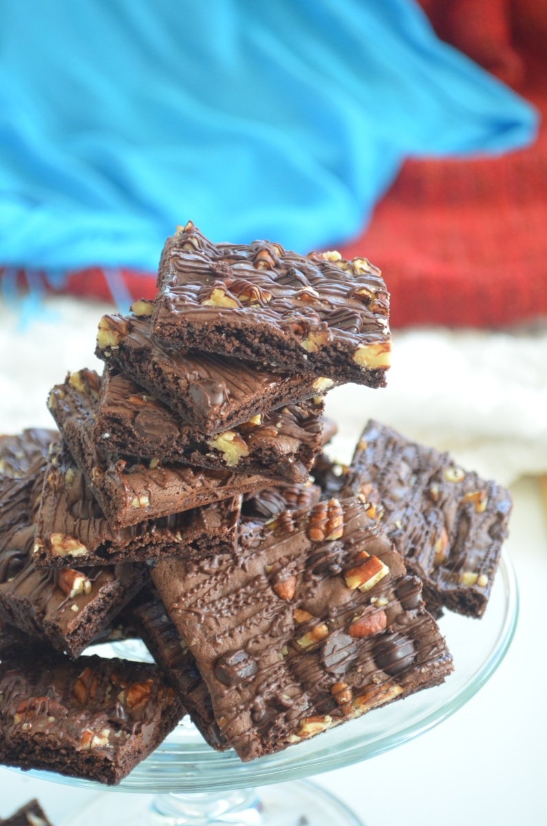 Soft And Chewy Brownie Thins