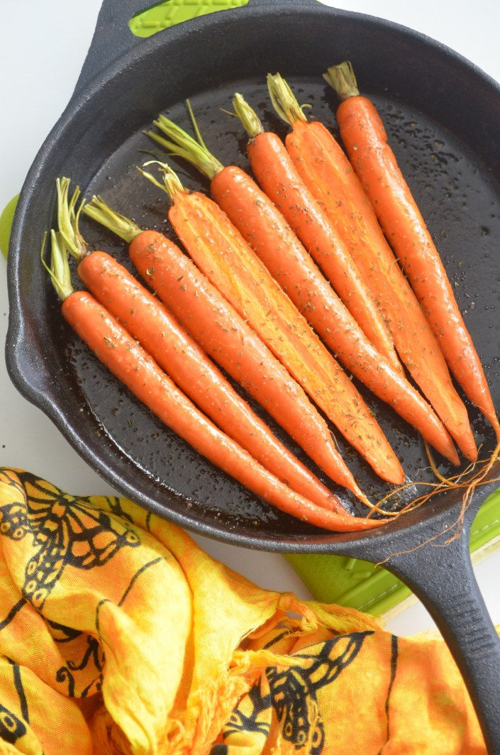 Baked Baby Carrots Recipe
