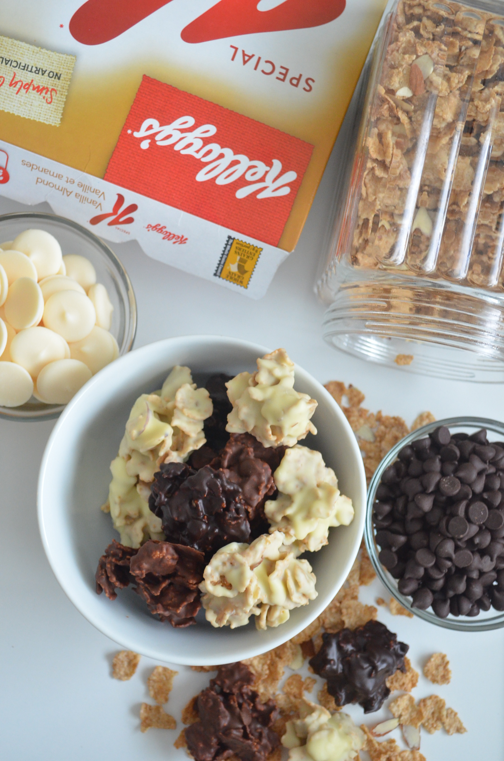 Corn Flakes Cereals Chocolate Cluster
