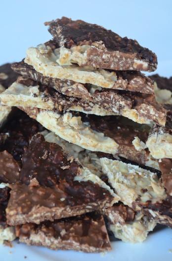 Corn Flakes Cereals Bark Chocolate