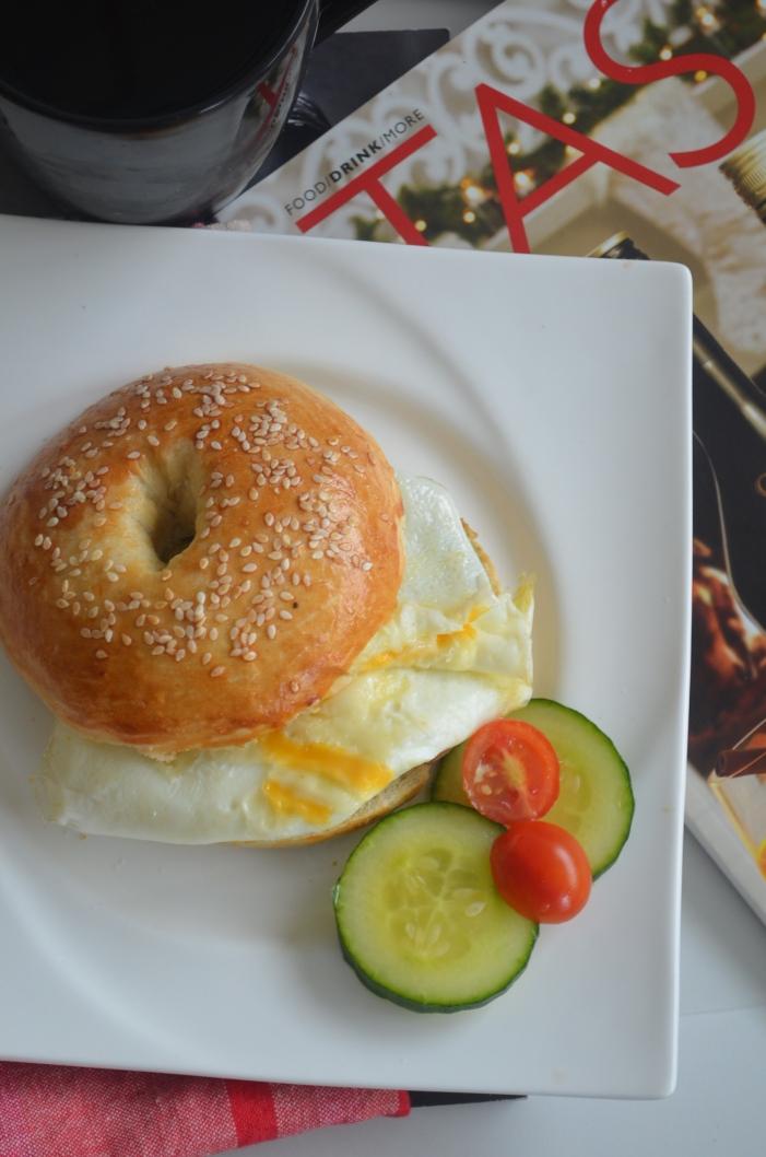 Eggwhites Bagel