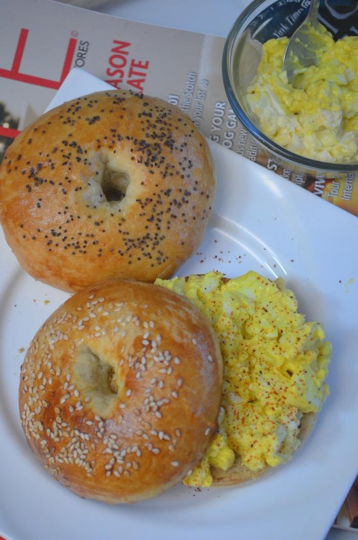 Egg Salad Bagel