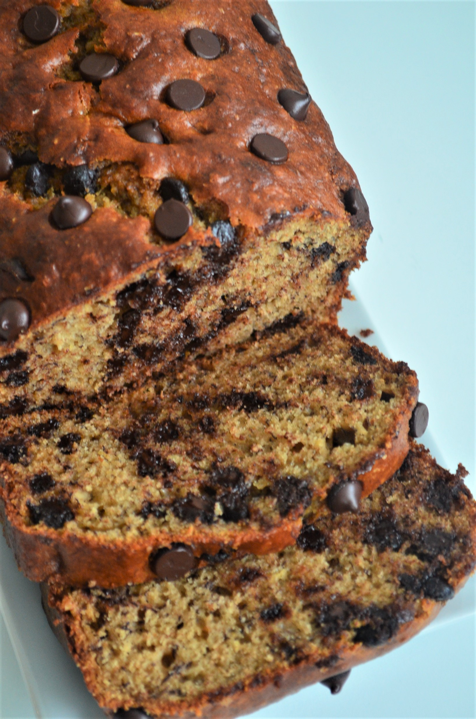 How To Make Chocolate Chip Banana Bread By SweetNSpicyLiving.com