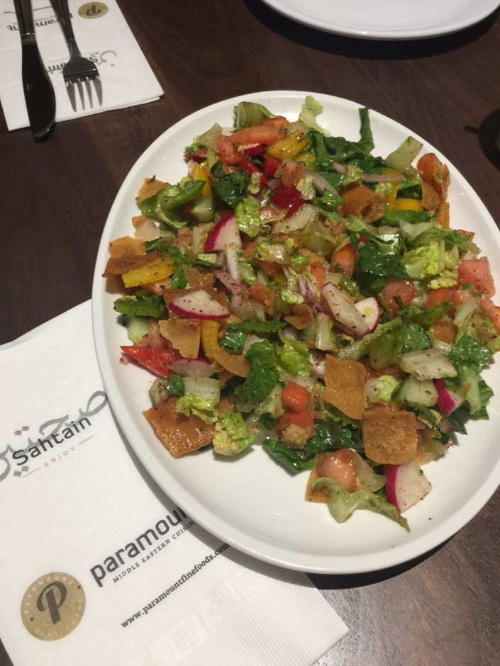 Fattoushed Salad