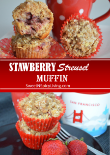 Strawberry Muffin