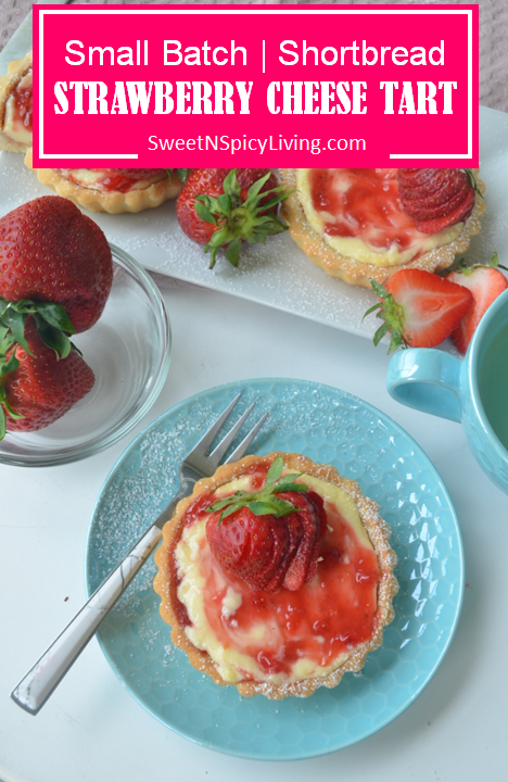 Strawberry Shortbread Cheese Tart 3