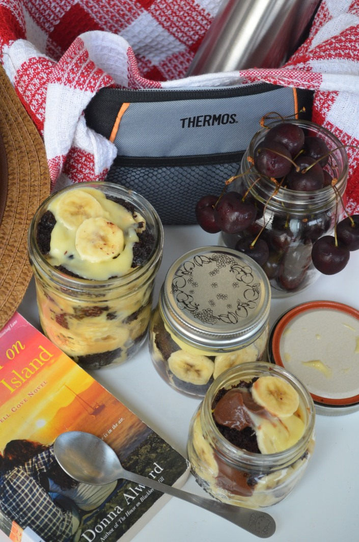 Chocolate Trifle in a Jar