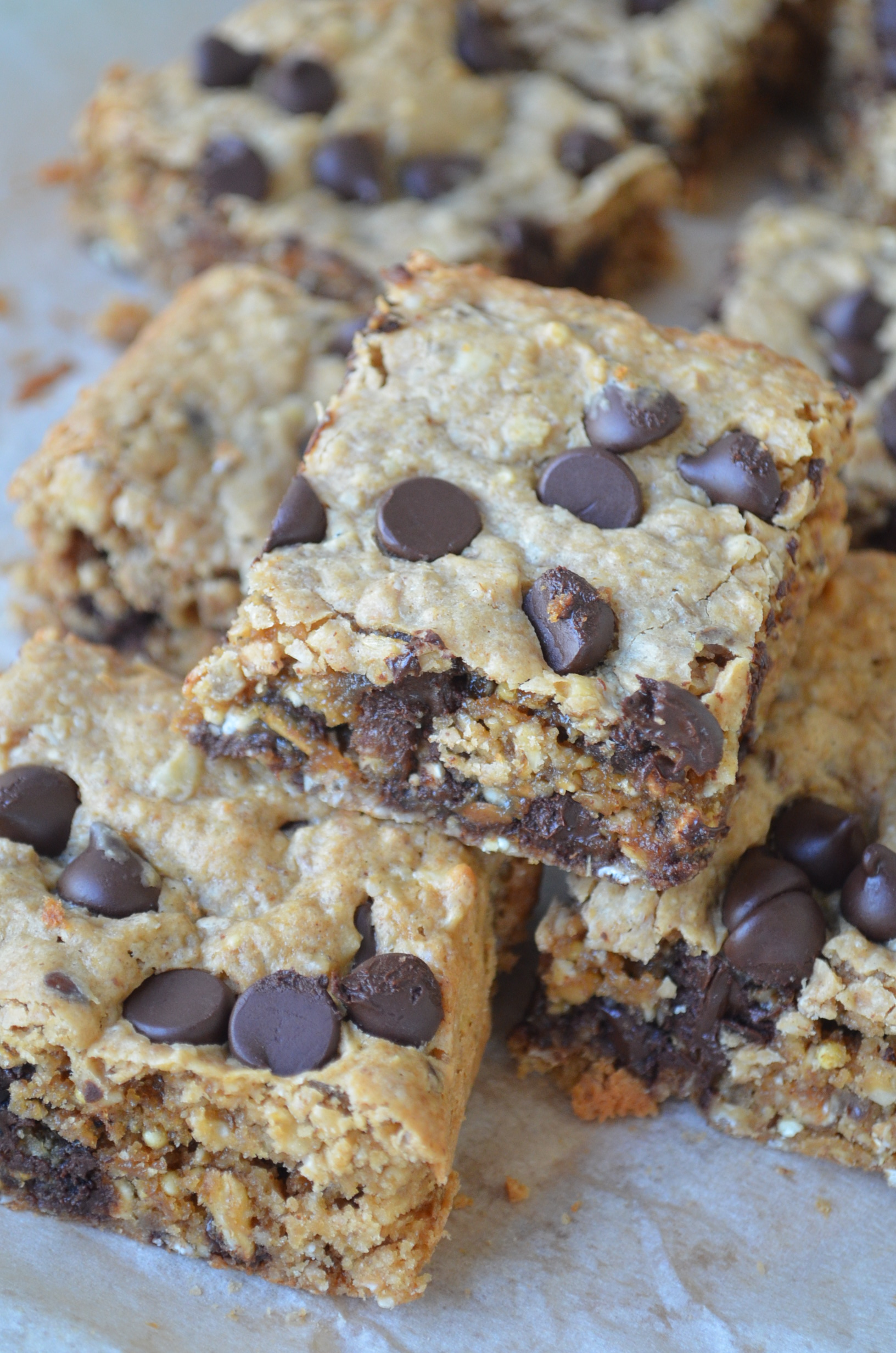 Peanut Butter Chocolate Chip Oats Bar