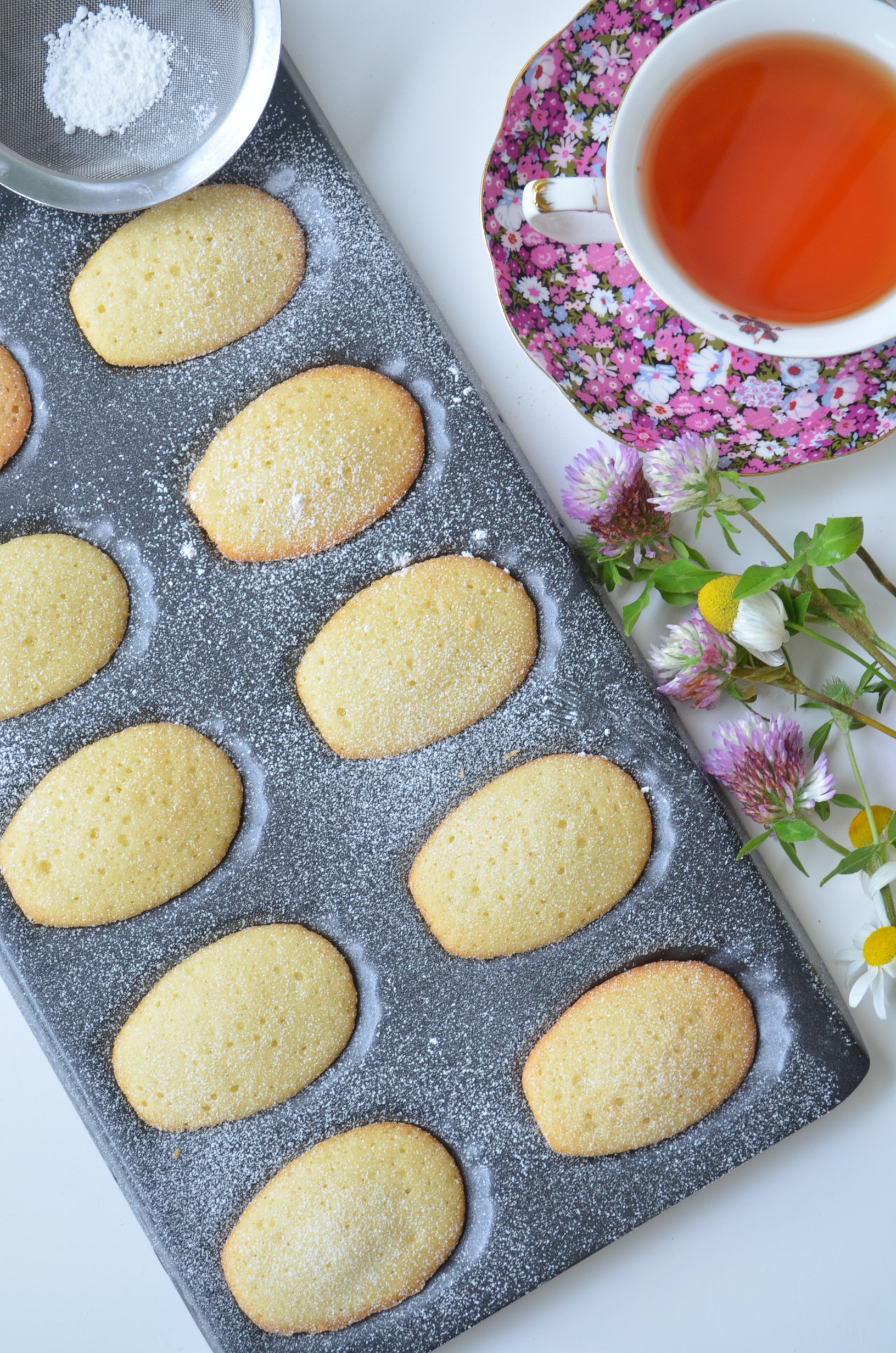 Classic Madeleine Coookies Small Batch