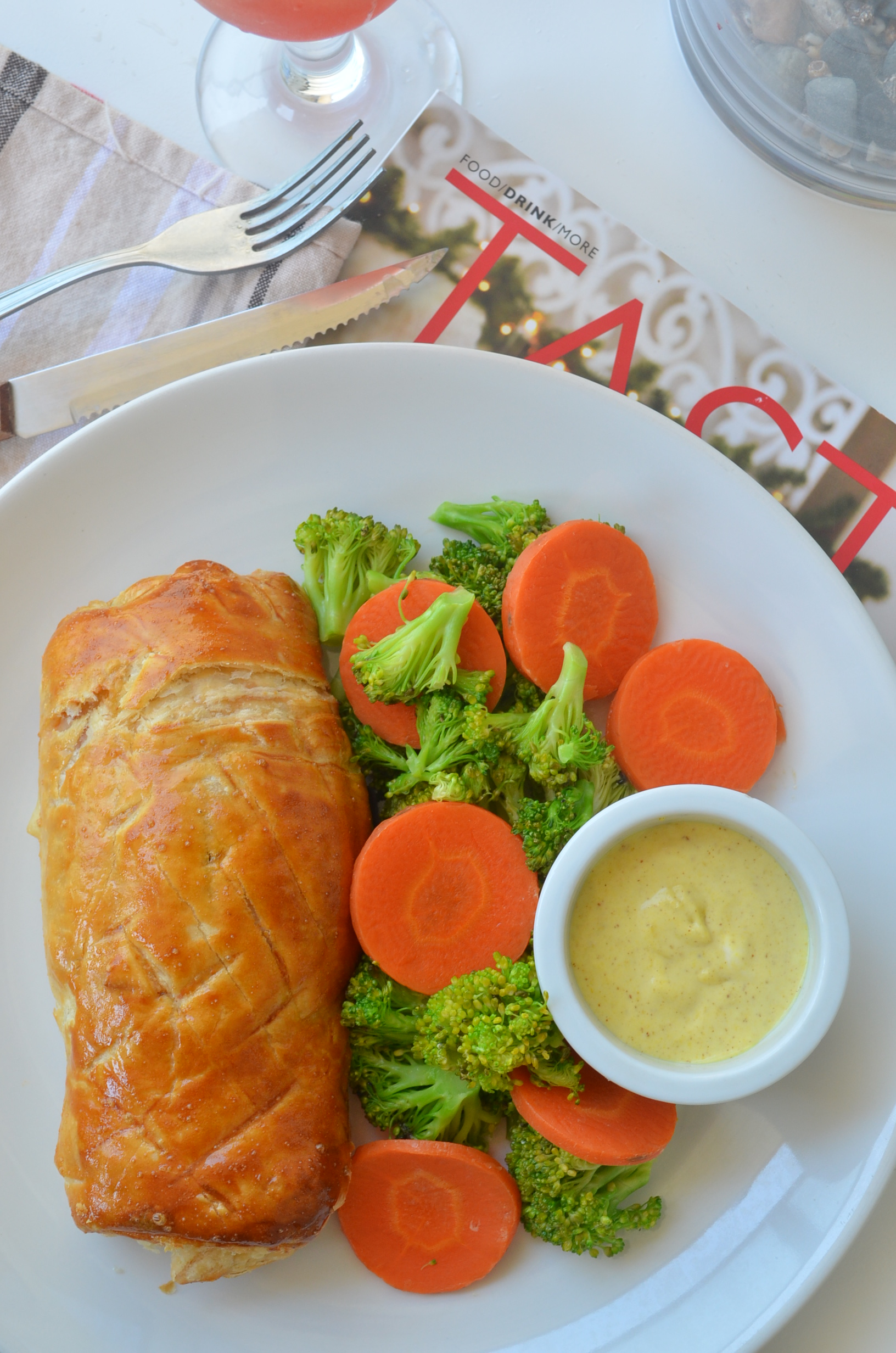 Small Batch Salmon Wellington