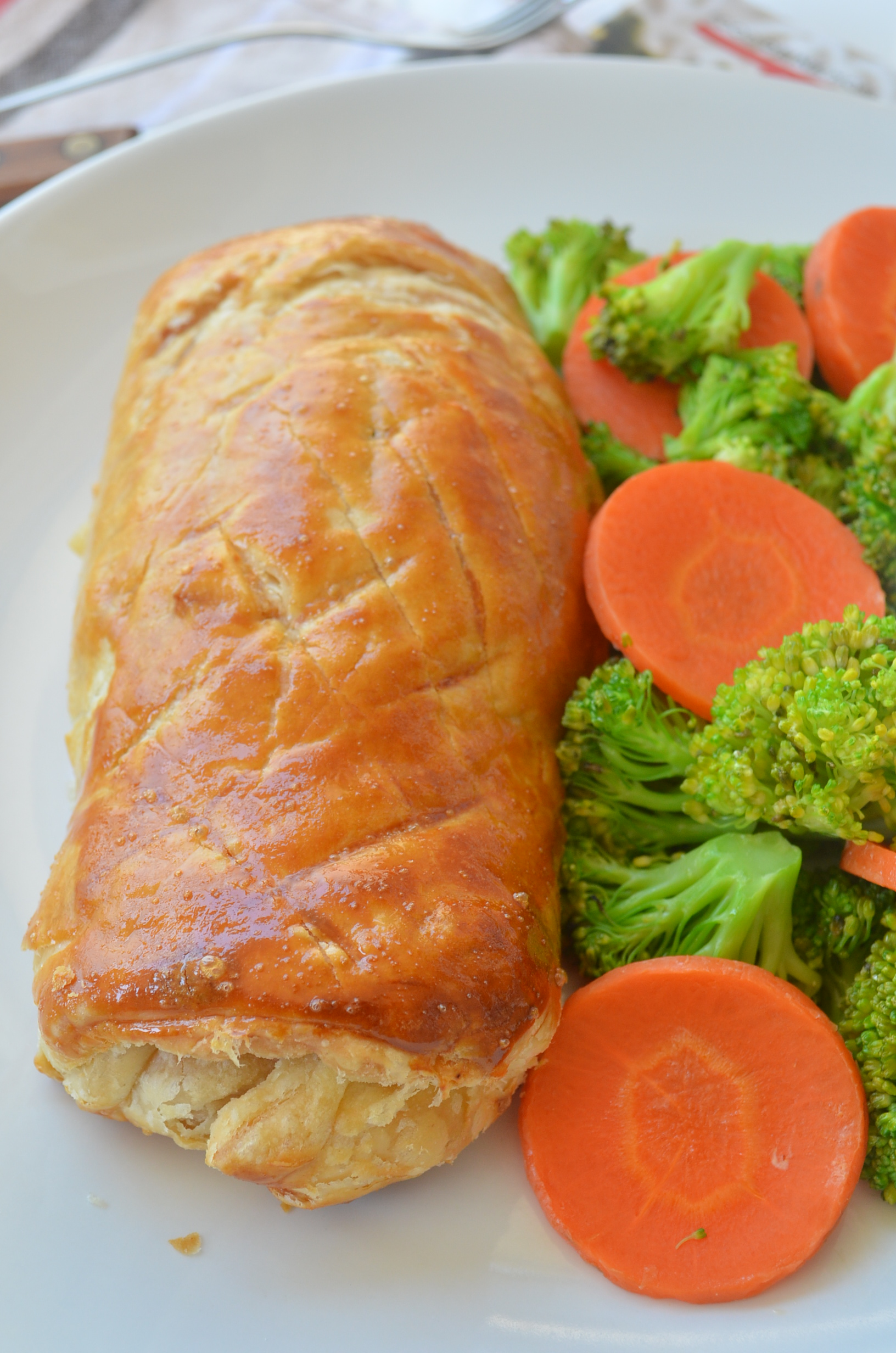Small Batch Salmon Wellington Recipe
