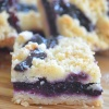 Small Batch Blueberry Bars by SweetnSpicyLiving
