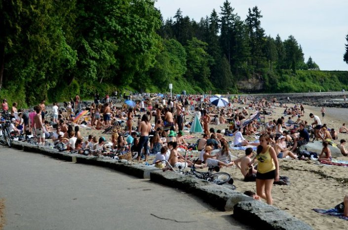 Stanley Park Third Beach