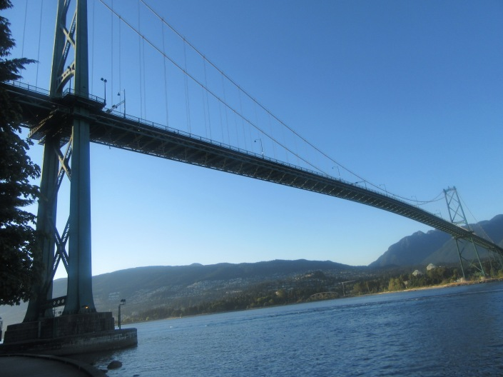 Stanley Park Lions Gate Bridge