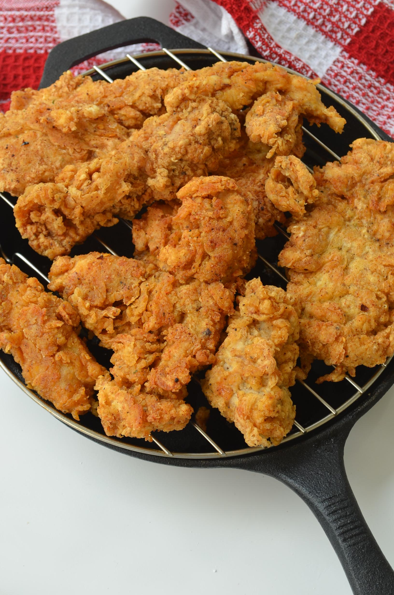 Small Batch Crispy Chicken Tenders