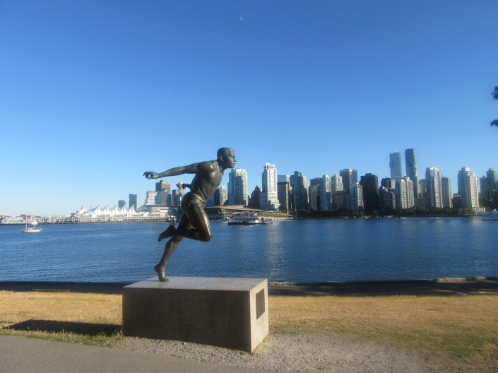 Stanley Park Harry Jerome Monument