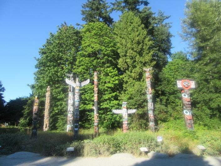 Stanley Park Harry Totem Poles