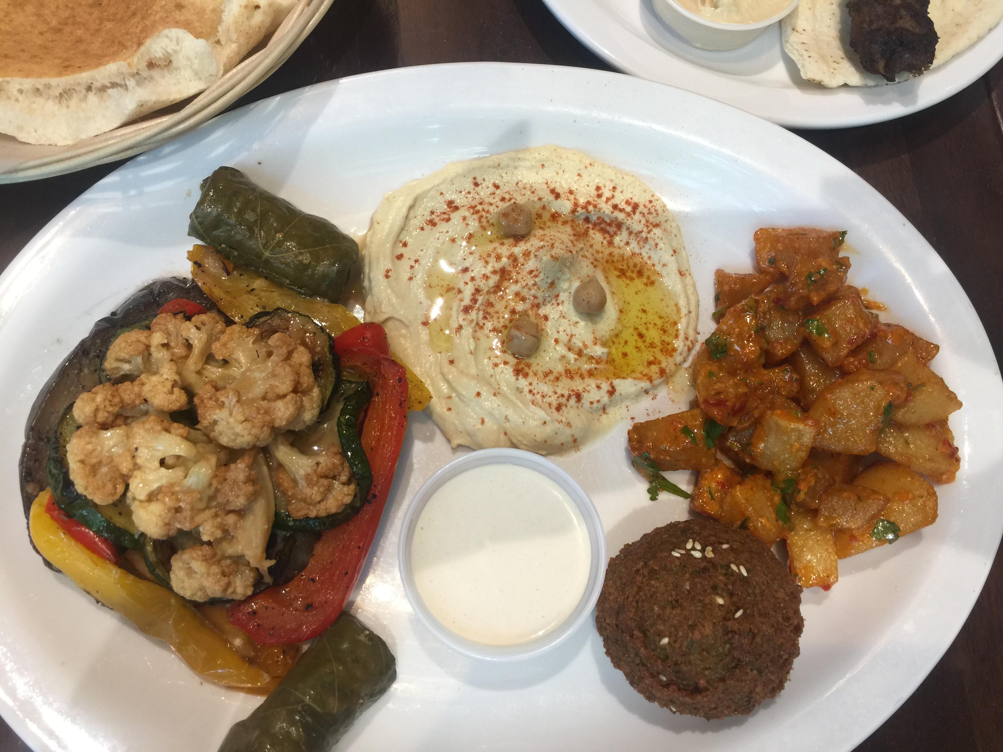 Paramount Fine Foods, Makali Veggie Plate