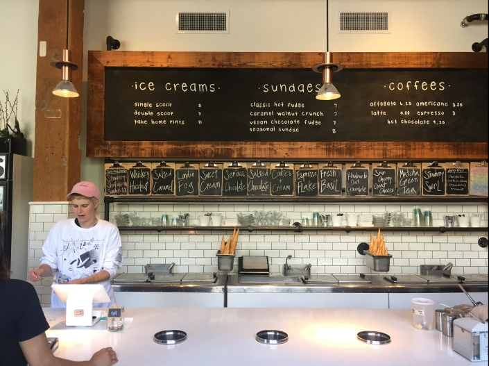 Earnest Ice Cream, Vancouver BC