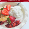 Strawberry Cobbler For Two2