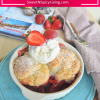 Strawberry Cobbler ForTwo