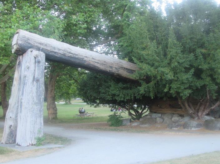 Stanley Park Harry Lumbermen's Arch