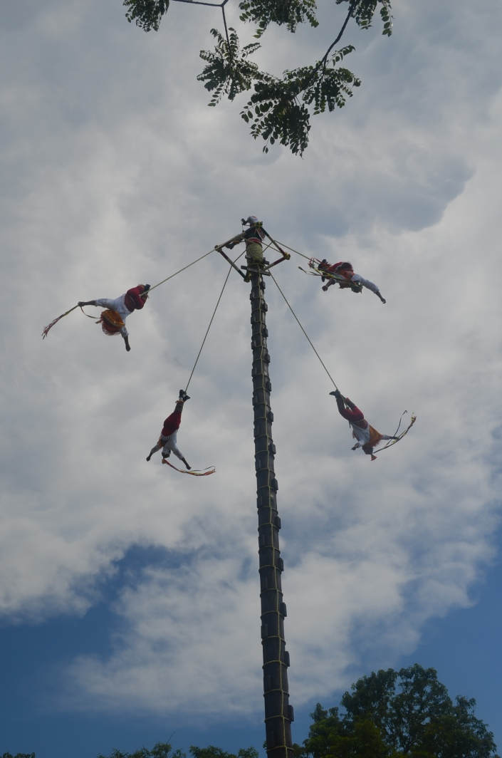 Xcaret Mexico: The Flying Man