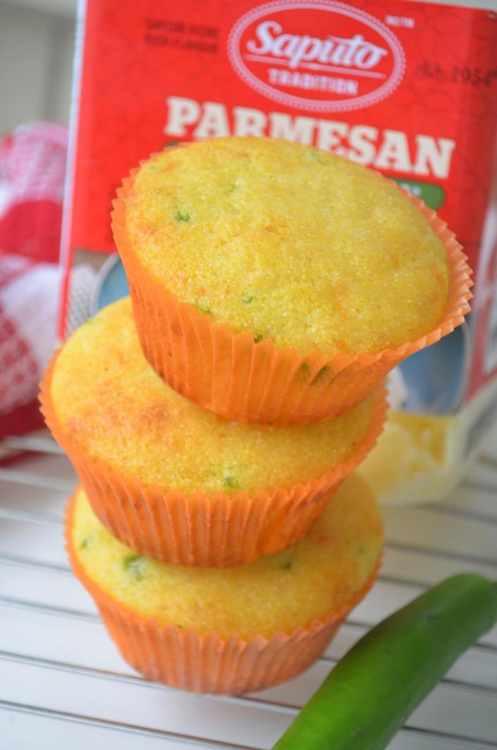 Small Batch Jlapeno Cornbread Muffins
