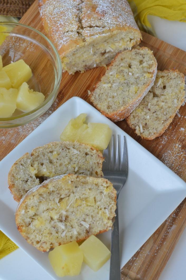 Pina Colada Banana Bread