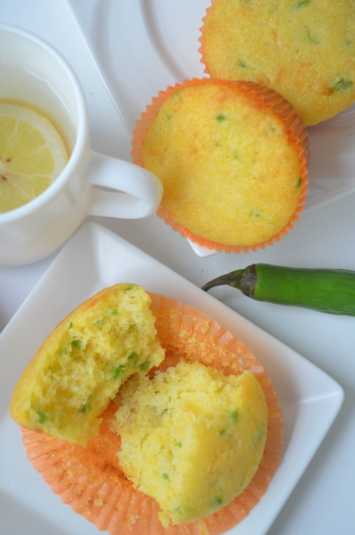 Small Batch Cornbread Muffins
