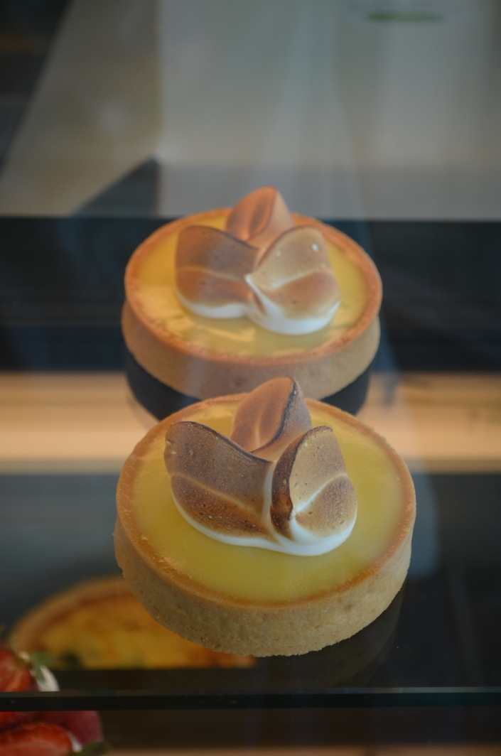 Lemon Meringue Tart at The Sweet Spot, Steveston Village Richmond BC