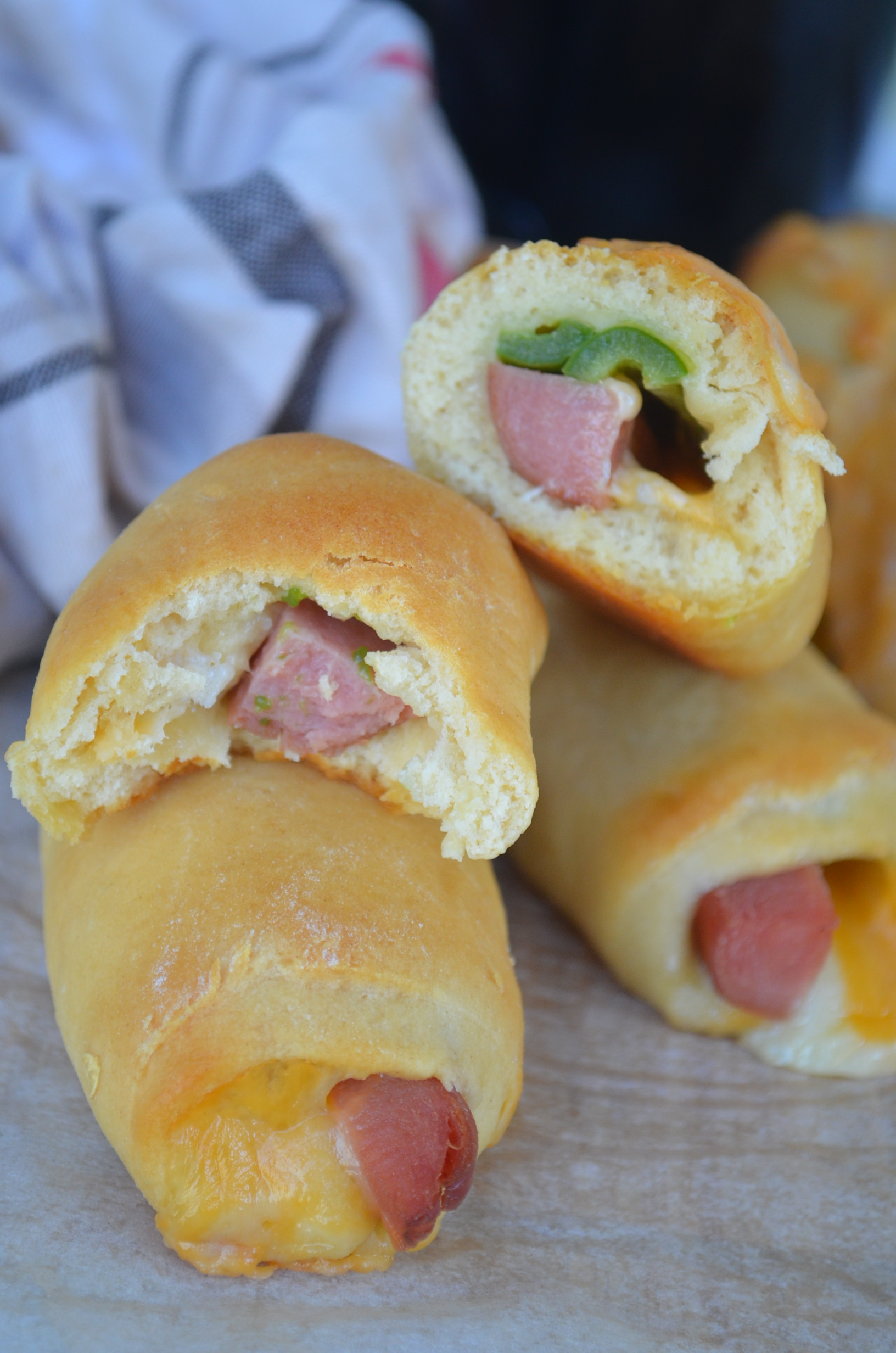 Wrap Around Cheese and Hotdog Crescent
