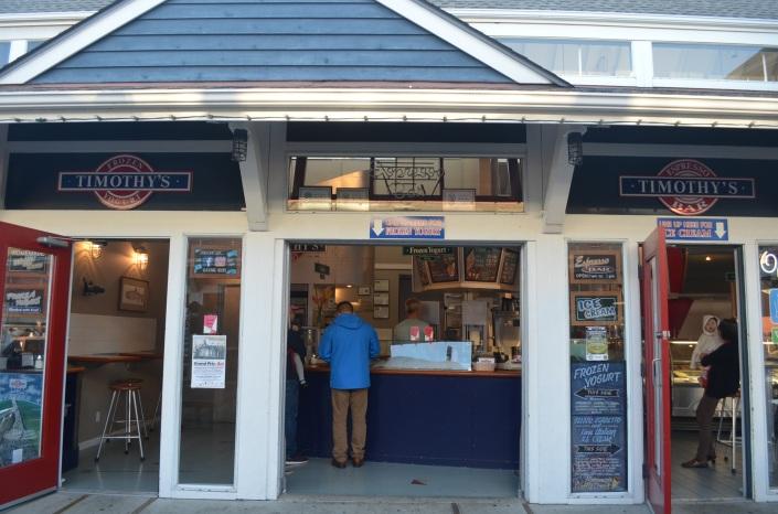 Timothy's Cafe at Steveston Village, Richmond BC
