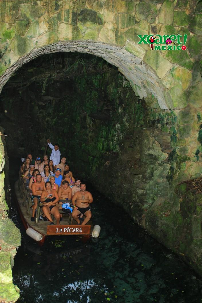 Underground River, Xcaret Mexico