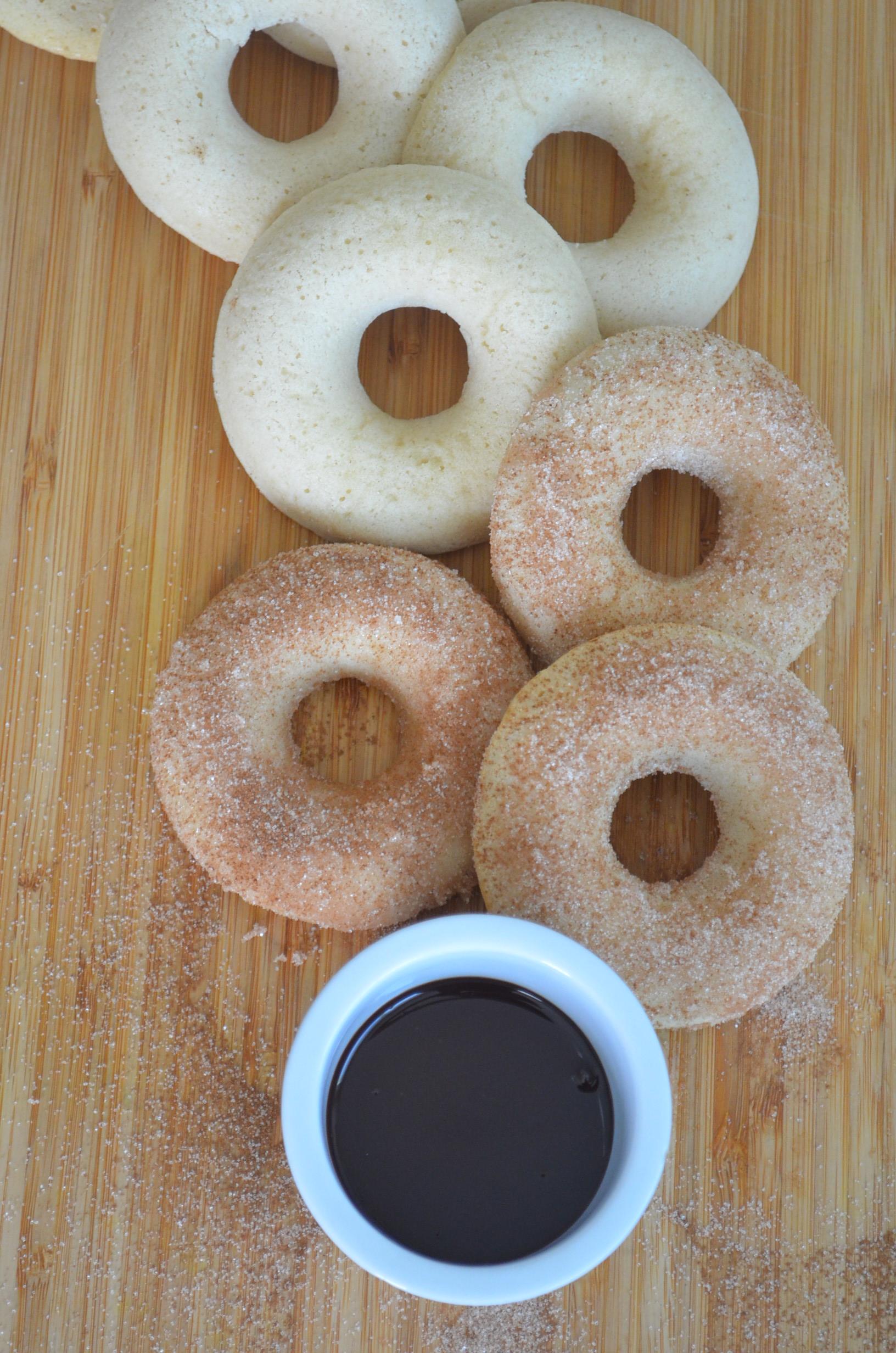 Small Batch Baked Churros Donut Recipe