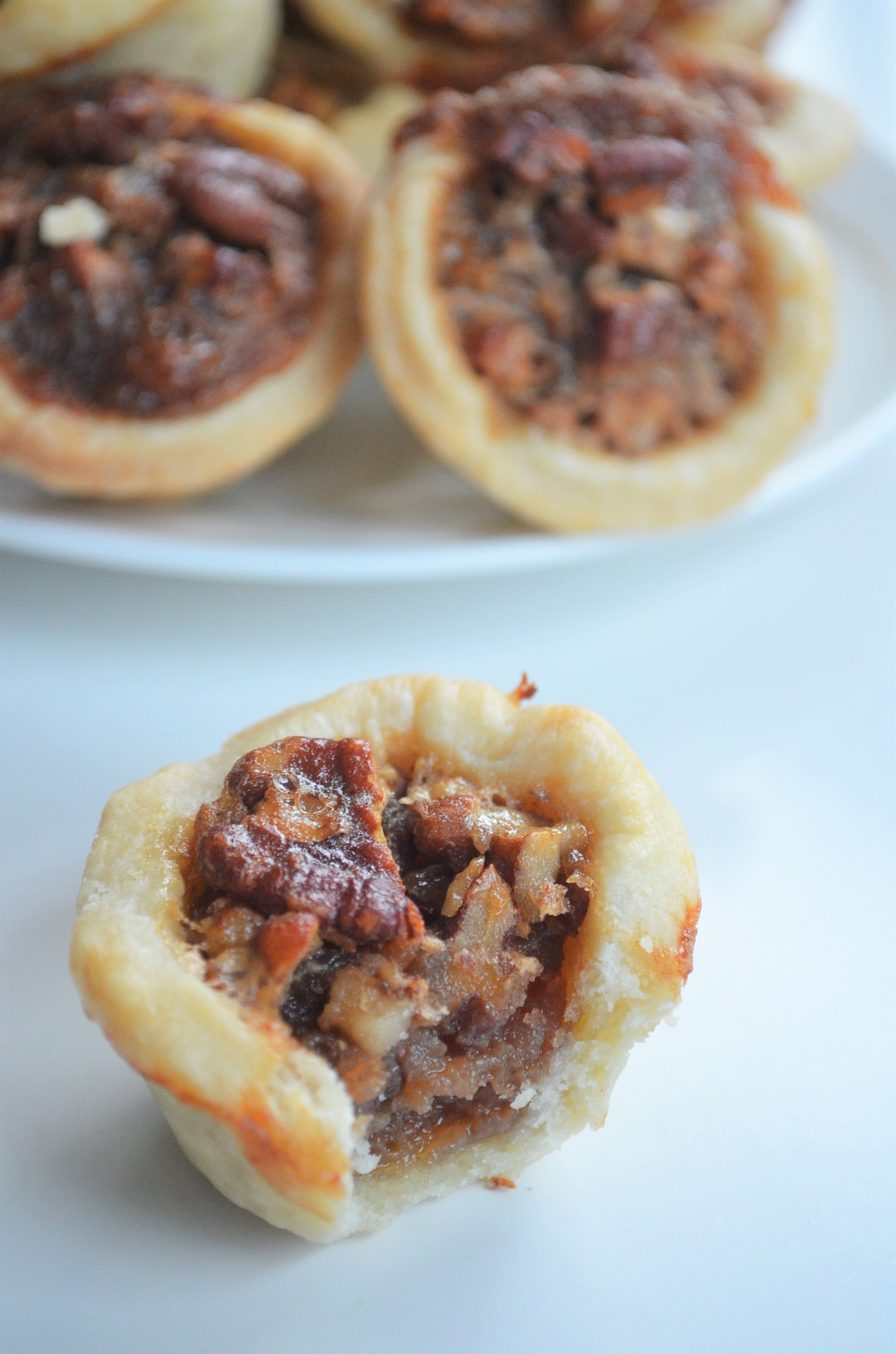 Small Batch Bite Size Pecan Pie