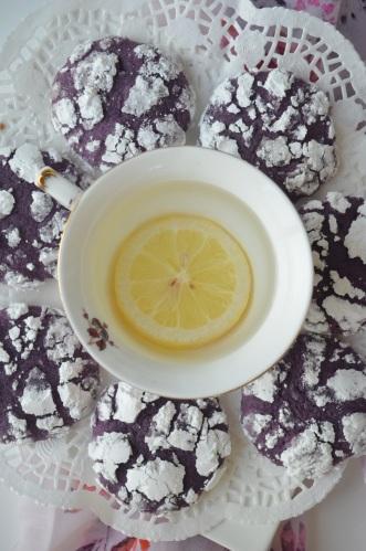 Ube Crinkles Cookies Recipe
